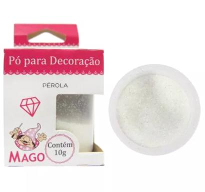 PO P/ DECORACAO PEROLA 10G