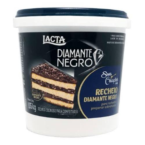 RECHEIO CREMOSO DIAMANTE NEGRO 1,05KG LACTA