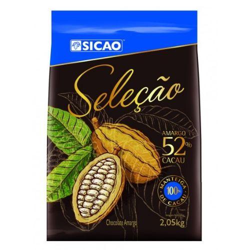 SICAO CHOCOLATE AMARGO SELEÇÃO 52% 2,05KG
