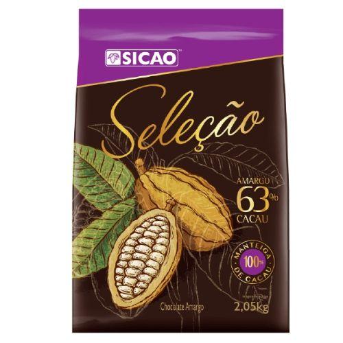 SICAO CHOCOLATE AMARGO SELEÇÃO 63% 2,05KG