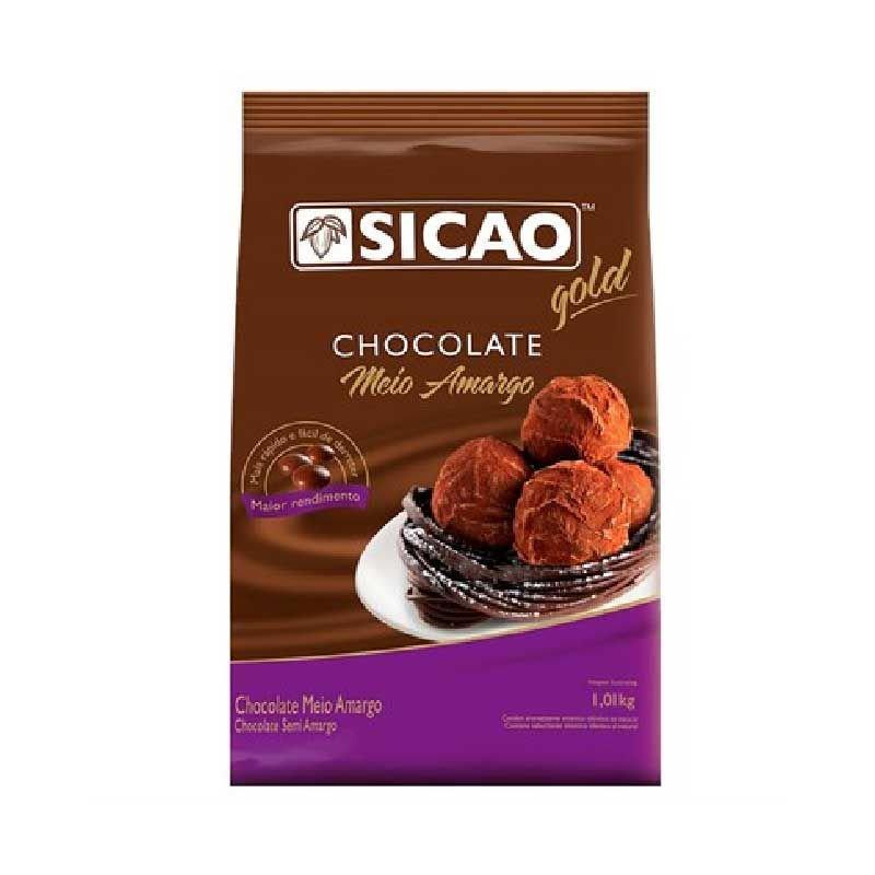 SICAO CHOCOLATE MEIO AMARGO GOTAS 1,01KG