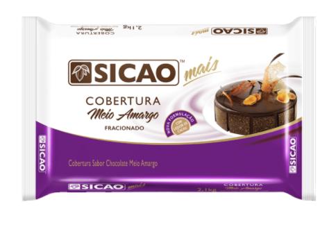 SICAO COBERTURA MEIO AMARGO 2,1KG