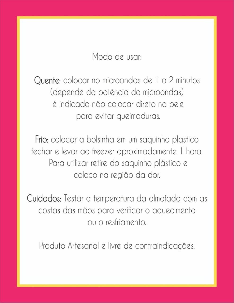 Bolsinha de ervas - Ramos