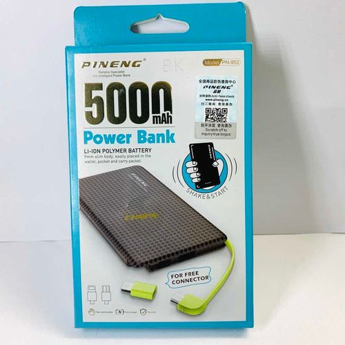 Power Bank 5000 mah Pineng
