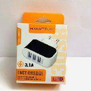 Carregador 3.1 A Fast Charger H Maston