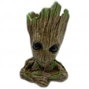 Baby Groot Vaso Ou Porta Objetos Em Resina