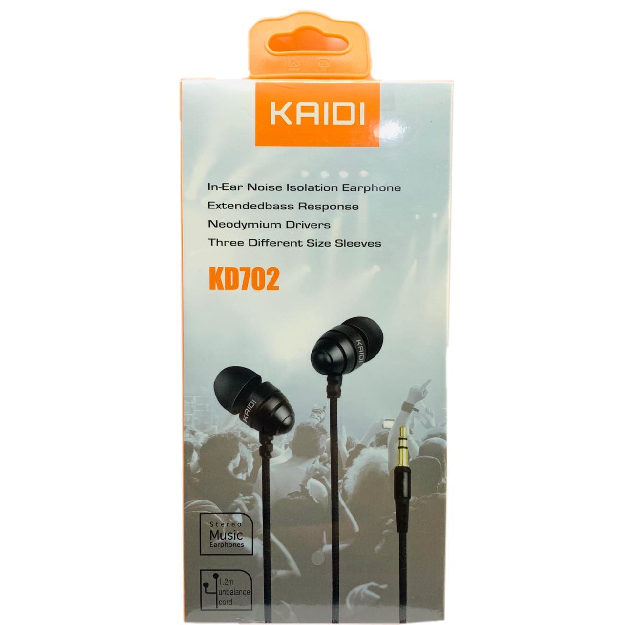 Fone de Ouvido KAIDI KD702