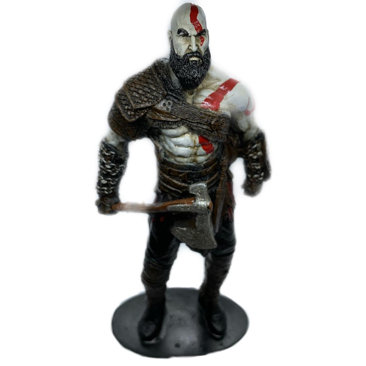 Kratos God Of War Em Resina
