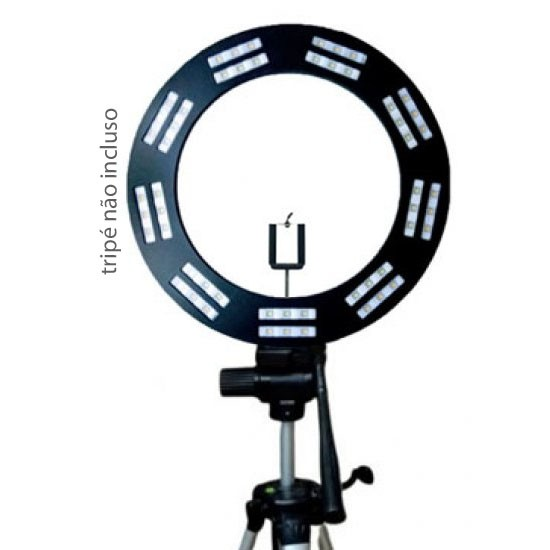 RING LIGHT PADRÃO MOD. LED - PRETO