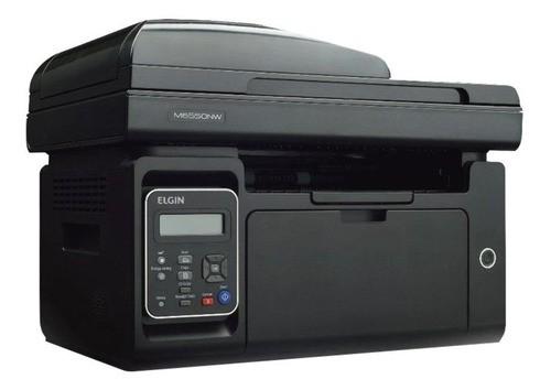- Impressora Multifuncional Elgin Pantum M6550nw Com Wi-fi 100v - 127v Preta