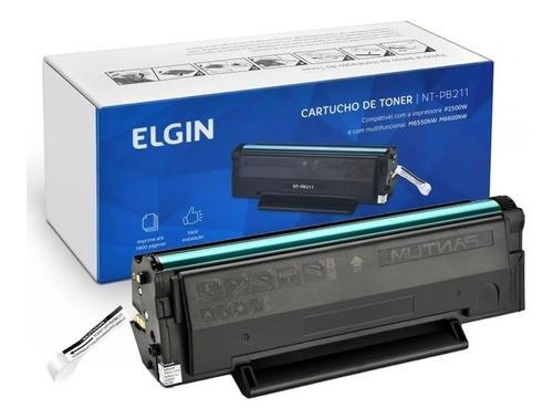 Toner Elgin Pb-211ev Pb-210e P2500w/m6550nw/m6600n (02 Unid)