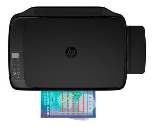 mpressora A Cor Multifuncional Hp Ink Tank Wireless 416 Com Wi-fi 110v/220v Preta