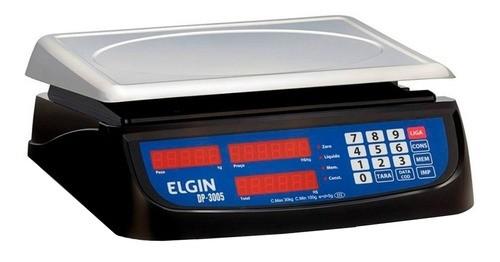 Balança Comercial Digital Elgin Dp 30kg 110v/220v Preto