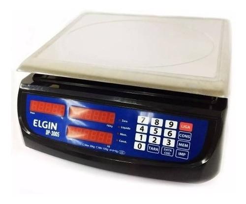 Balança Elgin Dp-30 30kgs Com Bateria, Nf-e E Garantia