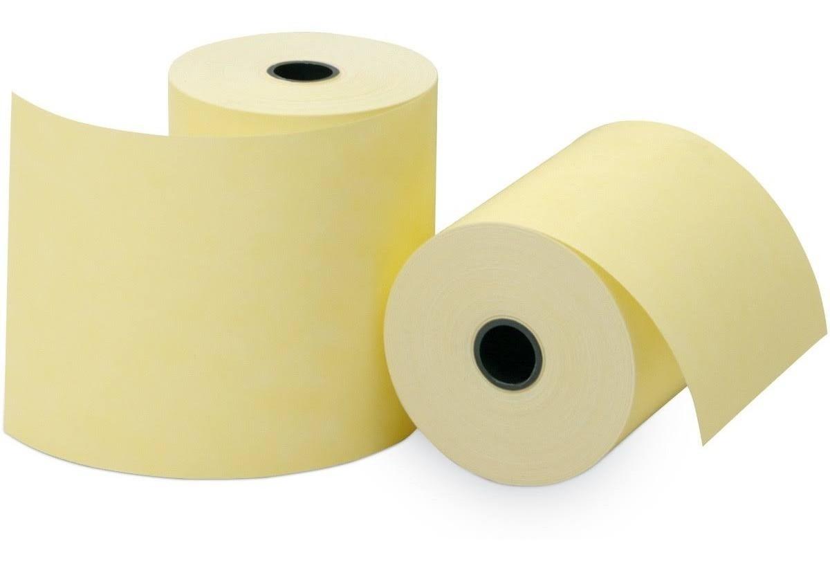 Bobina Térmica Amarela 80x40 (Caixa com 30 unidades)
