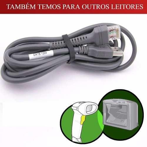 Cabo Usb Para Leitores Symbol/motorola E Zebra A*original*