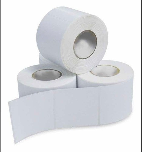 Etiqueta Adesiva 100x50 (10x5) Couchê Branca 10rolos