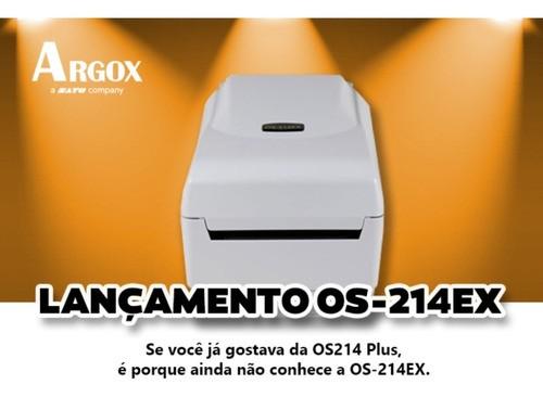 Impressora Argox Os214 Ex Ethernet - LANÇAMENTO