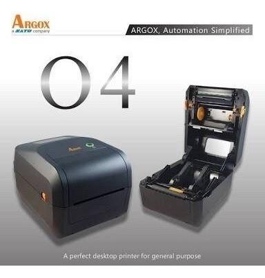 Impressora Argox Preta 04-250 Superior As2140 Usb E Serial