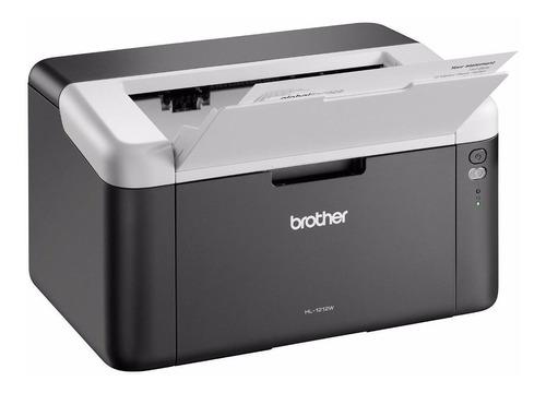 Impressora Brother Hl-1 Series Hl-1212w Com Wifi Preta E Branca 110v