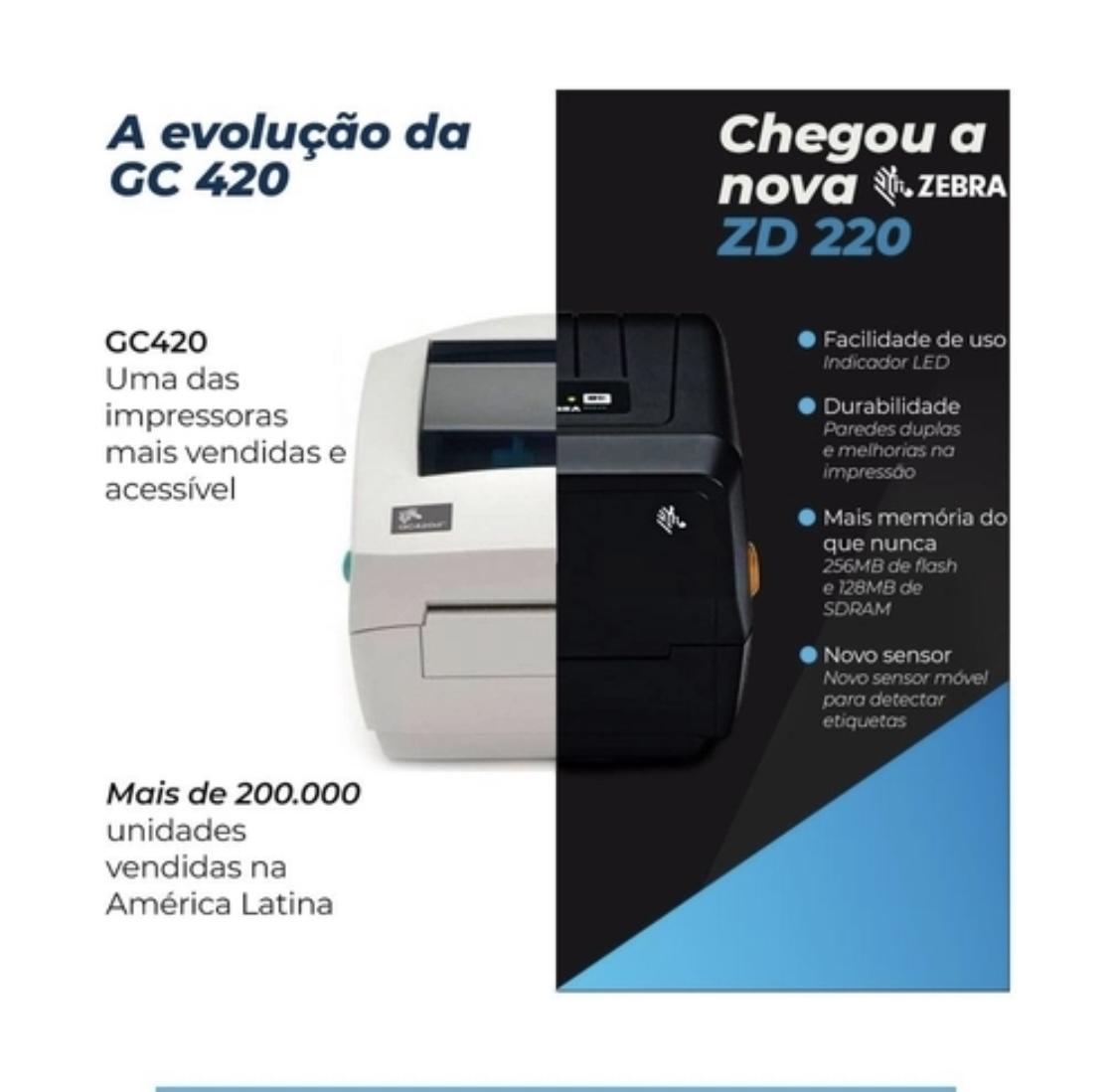 Impressora De Codigo De Barras zd 220- valor válido para clientes em São Paulo -SP