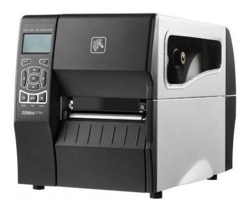 - Impressora De Código De Barras Zt230 Serial Usb Zebra