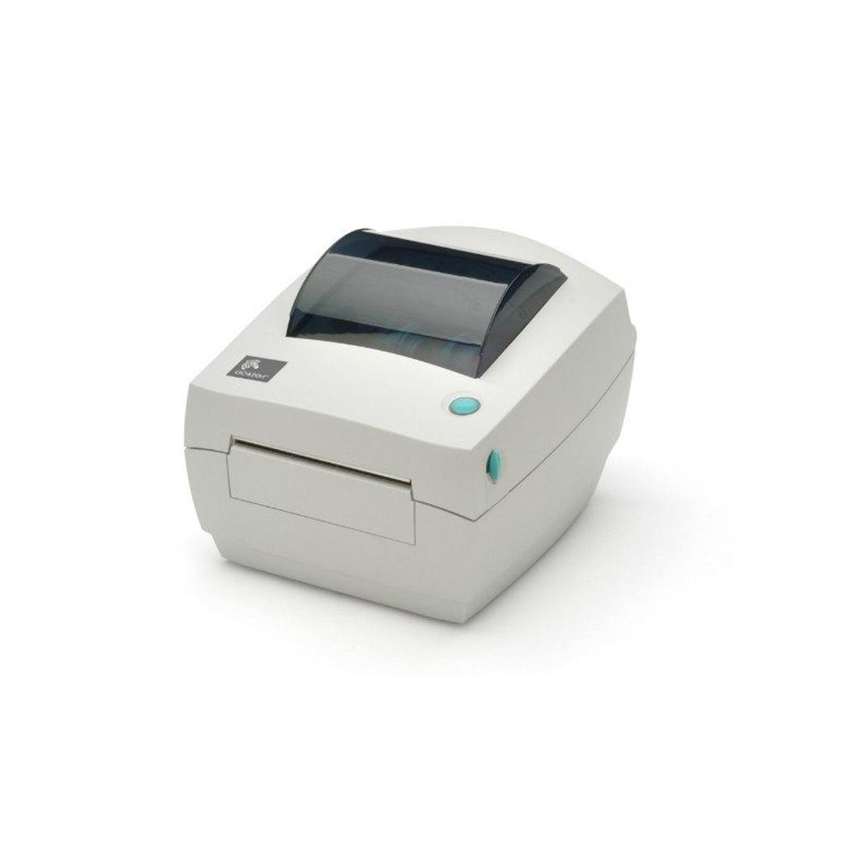 Impressora De Etiquetas Zebra Gc420t+ 4rl Etiqueta, 4 Ribbon