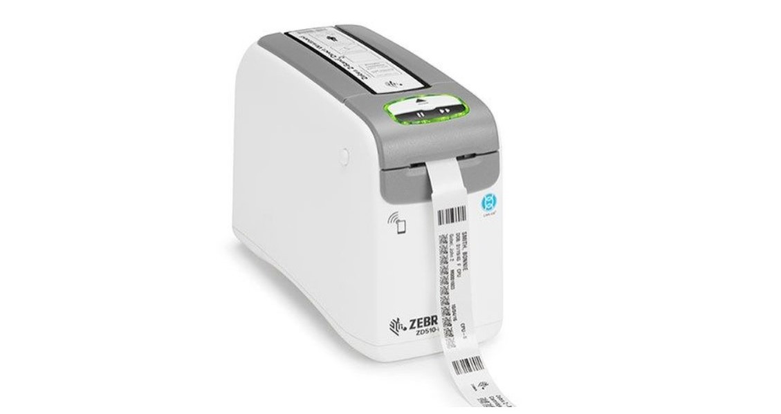 Impressora de Pulseira Zebra zd510 300dpi USB Serial e Rede