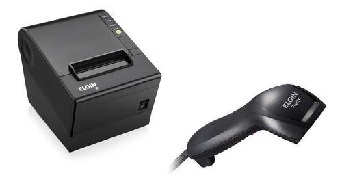 Kit Elgin Impressora Térmica I9 + Leitor Boletos/cod Barras