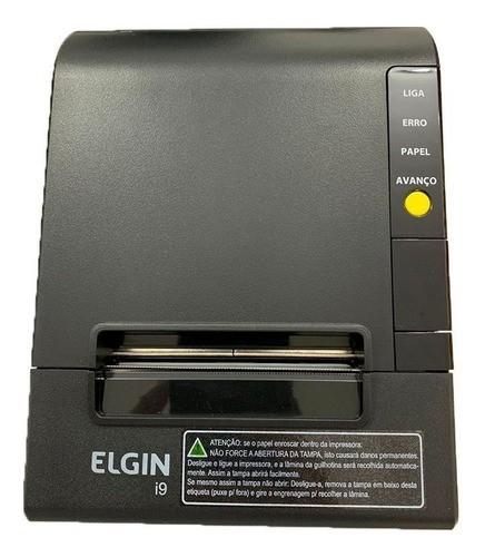 Kit Sat Elgin Smart E Impressora Elgin I9 Térmica Usb 3 Anos