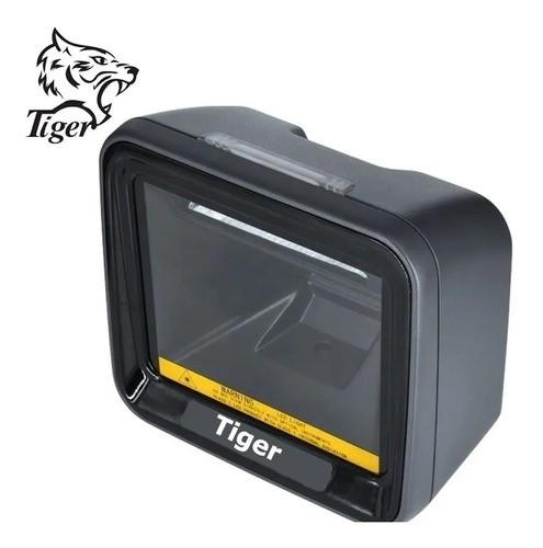 Leitor De Código De Barras Fixo 1d / 2d Tiger Ti7000 Com Usb