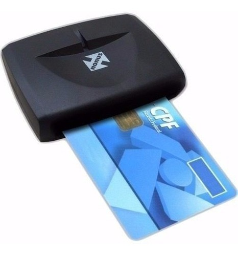 Leitora Cartão Smart Card Certificado Digital Usb Nfe Nota