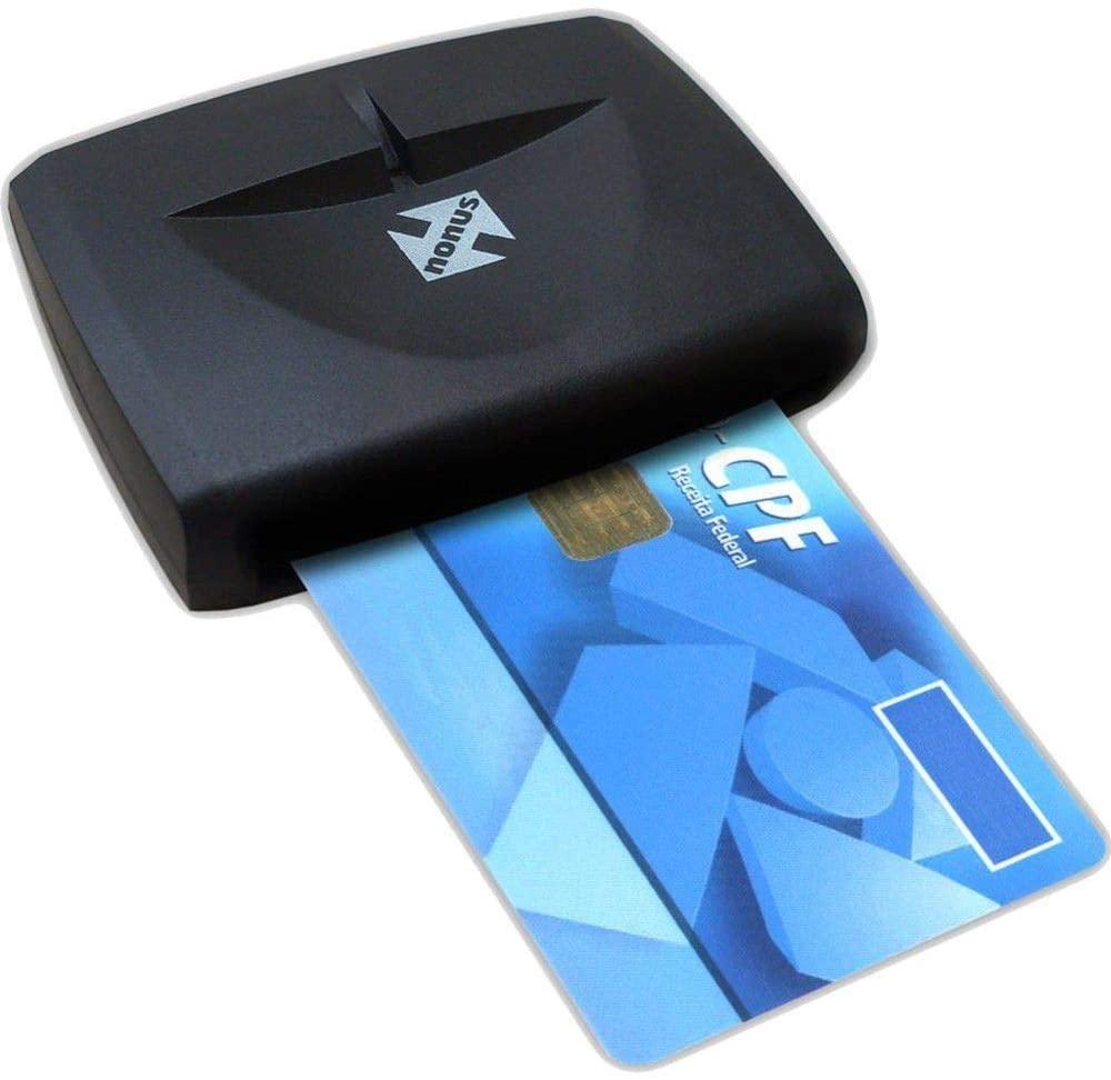 Nonus Leitor de Smart Cards (Banrisul/e-CPF/e_CNPJ/OAB/CRC/NFe)