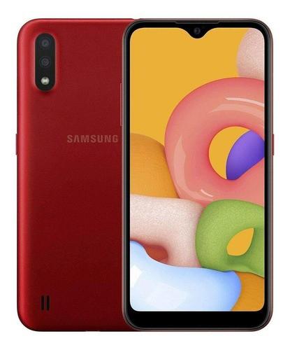 Samsung Galaxy A01 Dual Sim 32 Gb Vermelho 2 Gb Ram