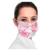 Mascara Descartavel Floral Rosa C/10 - 2i