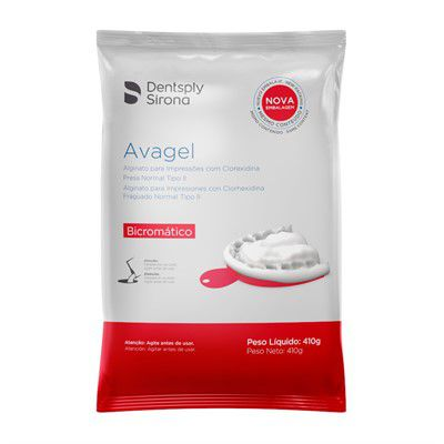 Alginato Avagel Tipo II Dentsply