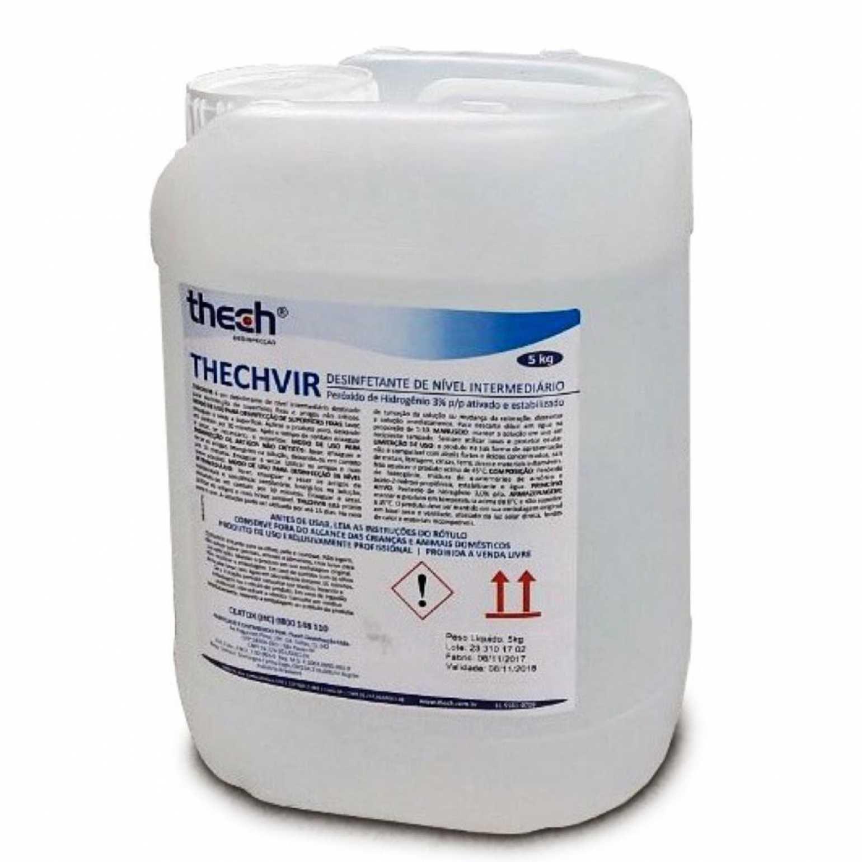 Esterilizante Desinfetante Peróxido de  HidrogênioThechvir