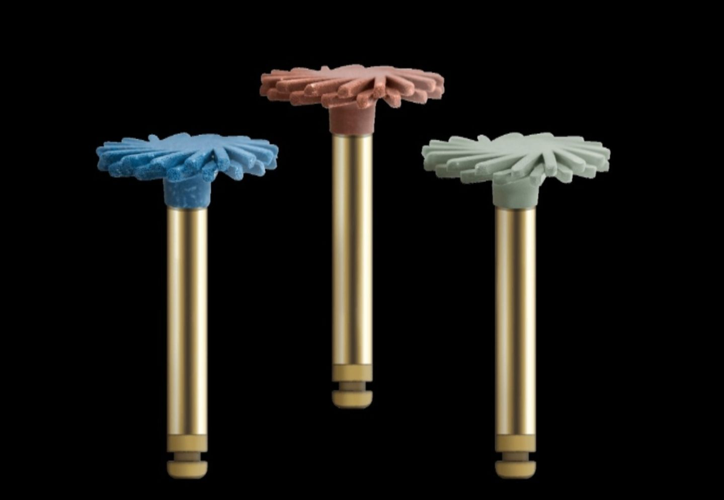 Kit Acabamento e Polimento Diamantado Twist-Gloss CA Espiral - American Burrs