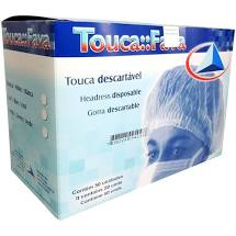 Touca Descartavel C/50 - Fava