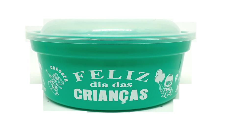 POTE REDONDO DIA DAS CRIANÇAS 800ML   - Allegra Plásticos
