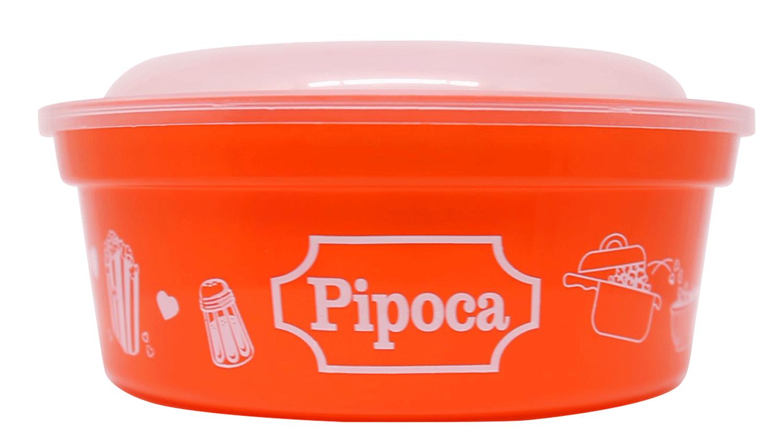 POTE REDONDO PIPOCA 800ML  - Allegra Plásticos