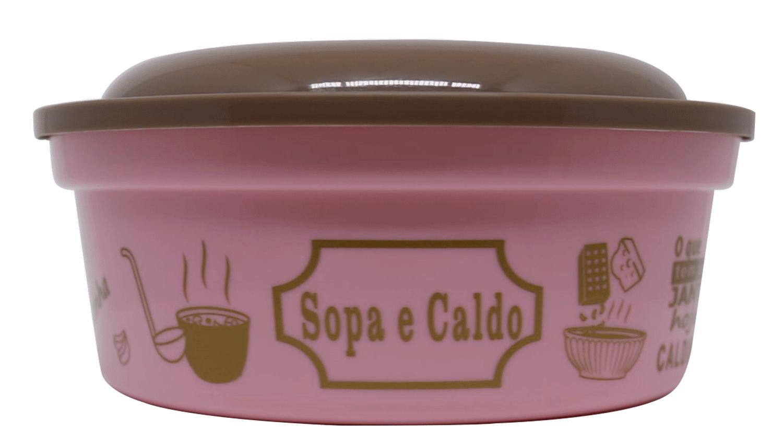 POTE REDONDO SOPA E CALDO 800ML  - Allegra Plásticos