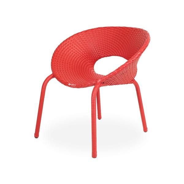 Cadeira Confort em Fibra Sintética