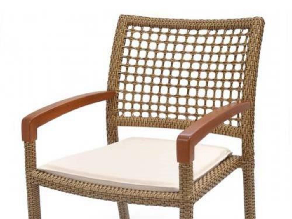 Cadeira Lindt Fibra Sintética com Braço
