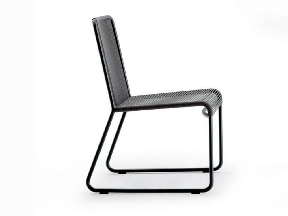 Cadeira Retrô em Corda Náutica