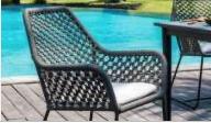 Cadeira Skyline em Corda Náutica