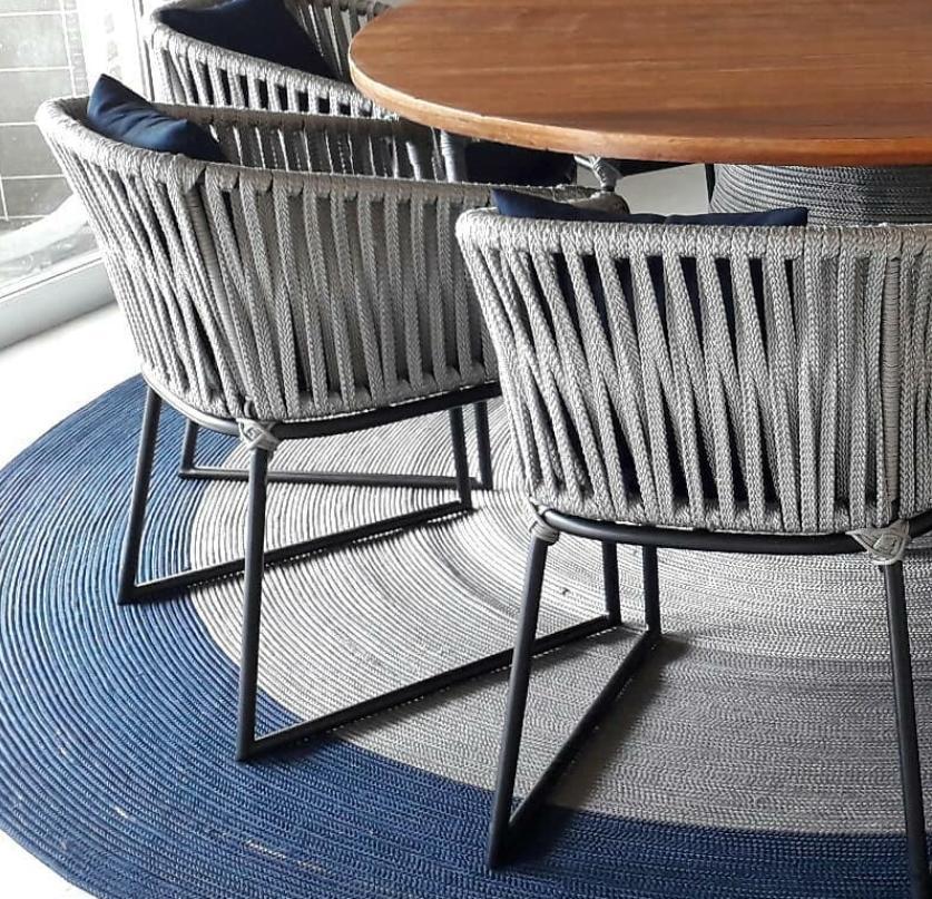 Cadeira Sottile Réplica Kettal em Corda Náutica