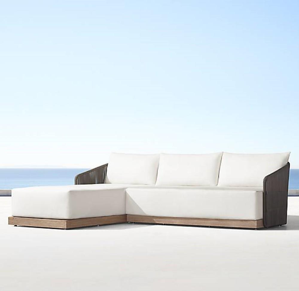 Sofa Chaise Havana Wood