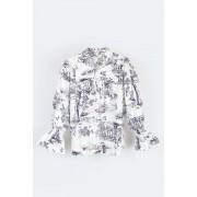 Camisa algodão Traços desenho Pituchinhus
