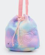 Mochila Saco Infantil Comfy Malha Pet Tie Dye Pampili